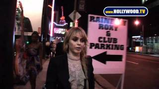chanel-: Taryn Manning @ The Pretty Reckless Show At The Roxy