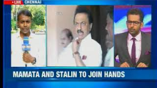 MK Stalin ropes in the West Bengal CM, Mamata and Stalin to join hands - NEWSXLIVE