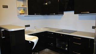 Угловая кухня «Спирит» на заказ