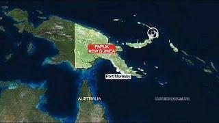 زلزال بقوة 7.7 في غينيا الجديدة وتخوف من تسونامي