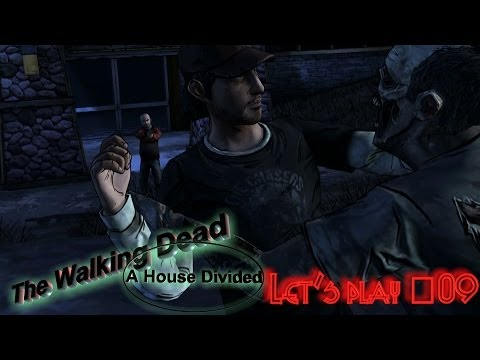 The Walking Dead: A House Divided #Let's play 09