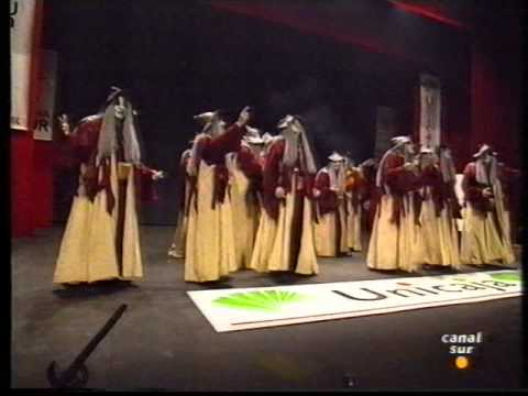 Sesión de Final, la agrupación El brujo actúa hoy en la modalidad de Comparsas.