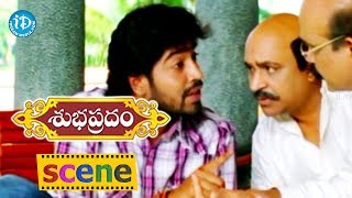 Subhapradam Movie Scenes - Manjari Phadnis Family Test Allari Naresh || Sarath Babu - IDREAMMOVIES