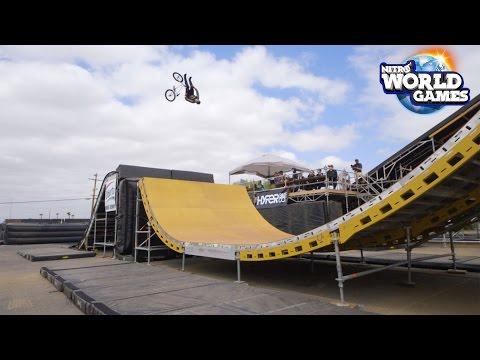 BMX Triple Hit Qualifier Highlights for Nitro World Games 2017