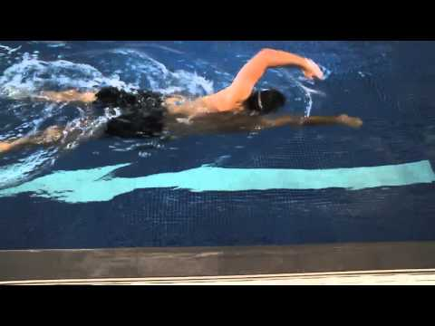 Front Crawl / Freestyle Swimming Drills - Armpit Touch