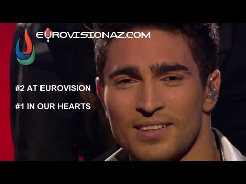 Thank you, Farid! Thank you, Europe! We are one! (Eurovision 2013, Azerbaijan)