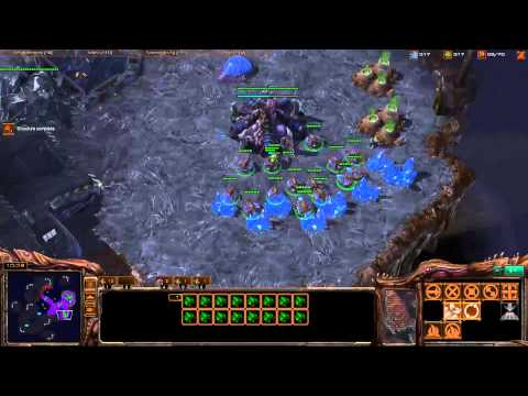 Destiny going mass queens [Game 1] - Starcraft 2