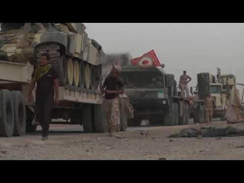 تقرير حصري لبي بي سي من كوكجلي التي تبعد اقل من كيلومتر عن الموصل