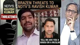Death Threats To Ravish Kumar: How Journalists Are Hounded - NDTV