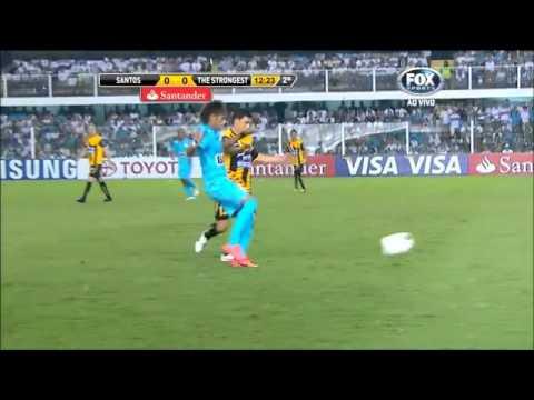 Neymar  vs The Strongest 19-04-2012 Home HD