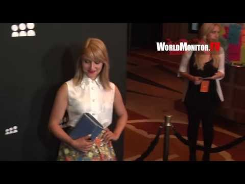 Glee Dianna Agron arrives at Myspace official Relaunch party in Los Angeles