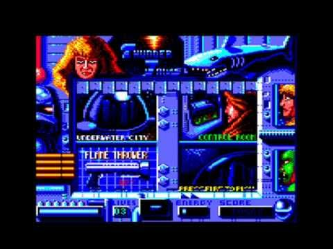 [AMSTRAD CPC] Thunder Jaws - Longplay & Review