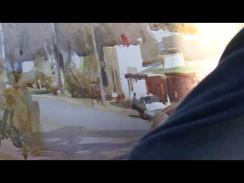 APV Films Masterclass - Watercolour Townscape with Ross Paterson