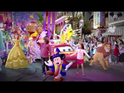 Disneyland Paris 20th Anniversary  TV spot UK