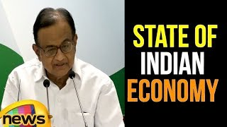 AICC Press Briefing by P Chidambaram on the state of Indian Economy | Mango News - MANGONEWS