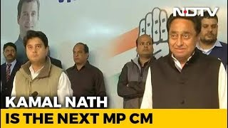 Kamal Nath Is Chief Minister Of Madhya Pradesh, Announces Congress - NDTV