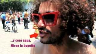 Ciclo marcha Nudista México D.F.