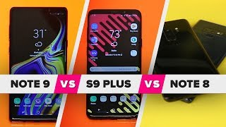 Galaxy Note 9 vs. S9 Plus vs. Note 8: What's new? - CNETTV