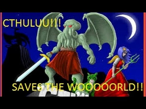 Cthulu saves the world - Petardas y pollos evolucionados