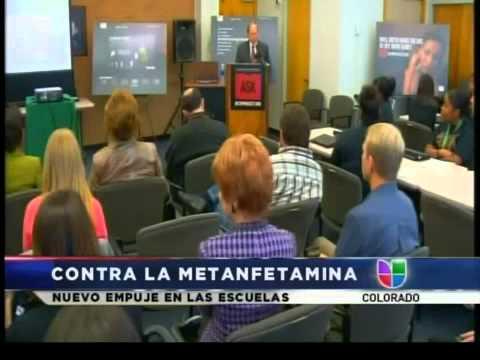Campaña contra metanfetamina.