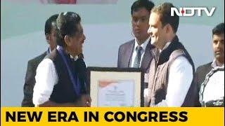 Rahul Gandhi Takes Over As Congress Chief - NDTVINDIA