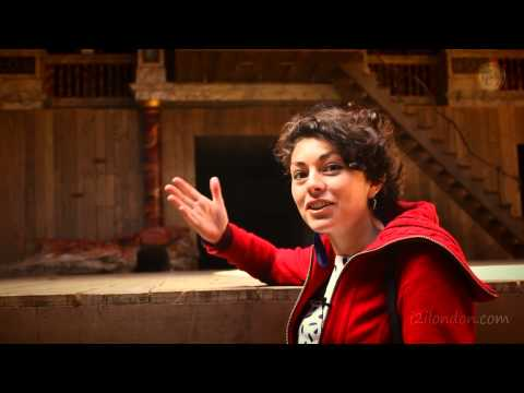 Video Walking Tour Guide Shakespeare's Globe Theatre London; All The World's A Stage