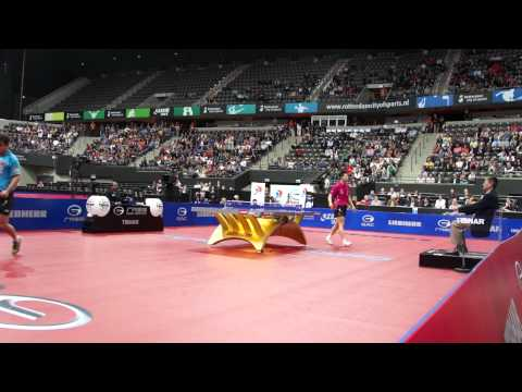 Table Tennis WTTC 2011 Rotterdam Men's Semi Wang Hao Ma Long 8 of 12