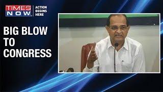 Massive embarrassment for Congress, Radhakrishna Vikhe Patil quits as LOP - TIMESNOWONLINE