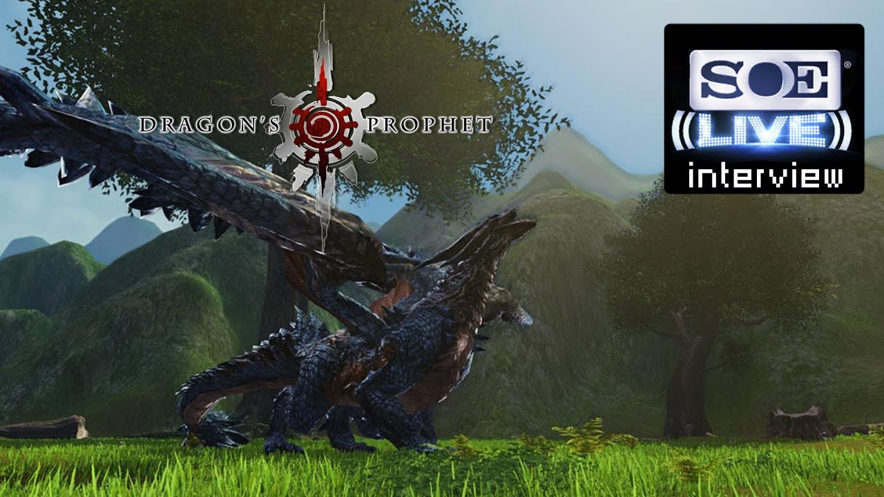 Dragon's Prophet Updates Interview - SOE Live 2013