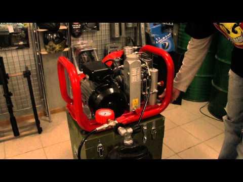 Обзор компрессора высокого давления Nardi Atlantic E100