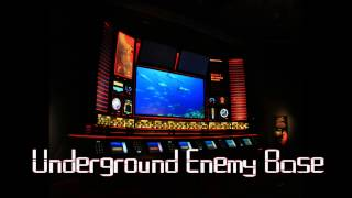 Royalty Free Underground Enemy Base:Underground Enemy Base