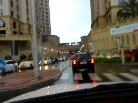Jokalian, Mubi & Guddu enjoying the rain in Dubai....!