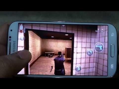 SAMSUNG GALAXY S4 MAX PAYNE GAMEPLAY