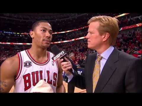 Derrick Rose Highlights Bulls  Vs Indiana Pacers - Playoffs 2011 Game 1 HD