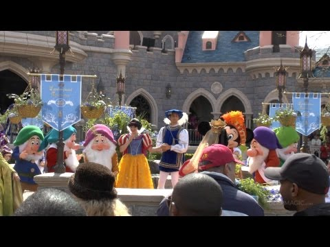 12th April 2012: Fantasyland Celebrates! Disneyland Paris 20th Anniversary (HD)