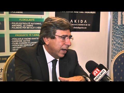 """A1 Report - Çelet në Tiranë ekspozita ballkanike """"Uji dhe Energjia"""""""