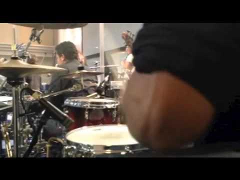 Ruach ministries Lucas Selvatici Drums