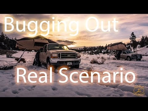 Bug Out Vehicle Realistic Scenario
