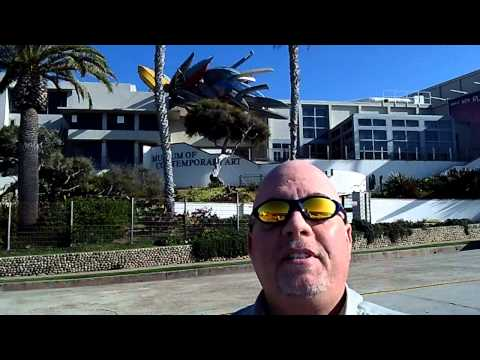 Museum Of Contemporary Art La Jolla San Diego Interview @VegasBiLL @24k 2-6-13