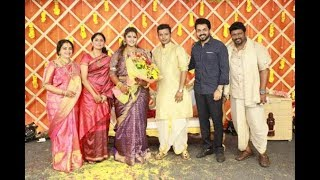 Actress SeethaParthiban 's Daughter Abhinaya Gets Married | Marriage & Wedding Reception Photos - RAJSHRITELUGU