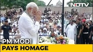 PM Modi Pays His Last Respects To Atal Bihari Vajpayee - NDTV