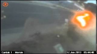 [Tanker Accident Live Camera 12 Jun 2013]