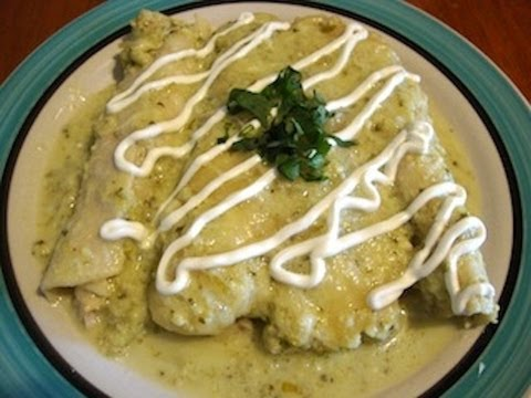 Swiss enchiladas mexican food recipe