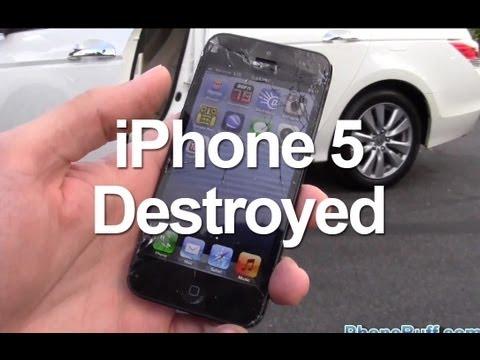 NIH KALO MAU BELI HAPE, HAPE INI AJA TAHAN BANTING DI LINDES MOBIL BRO HAPENYA : IPHONE 5