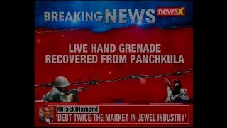 Police recovers live hand grenade from Panchkula, bomb squad diffuses the grenade - NEWSXLIVE