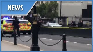 Westminster crash: cops arrive on scene - THESUNNEWSPAPER