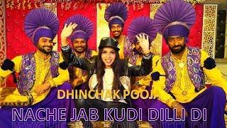 Dhinchak Pooja New Song 'Nache Jab Kudi Dilli Di' is out now - ITVNEWSINDIA