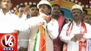 MP Vivek Election Campaign in Adilabad - V6NEWSTELUGU