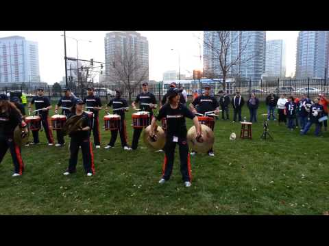 Chicago Bears Drumline