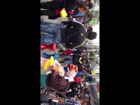 EMPORIO COMERCIAL GAMARRA 3 - Pelea callejera entre ambulantes informales